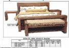 0152 QA 1306 Vanity Bed Set