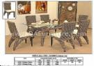 0752 QA 1237 LONZO Dining Set
