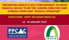 TAKAFUL IKHLAS (16 - 18 Januari 2015)