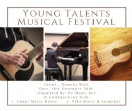 Young Talents Musical Festival 11.11.2018