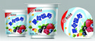PP,PVC,PS&PET Peelable Cup Sealing Film